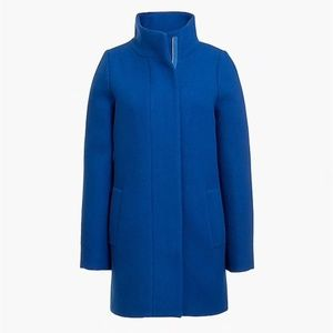 J.Crew Factory City Coat, Blue size 8